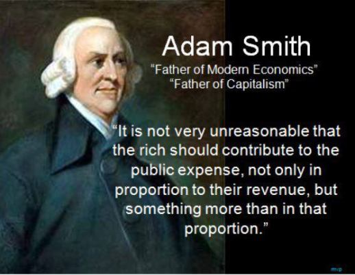 adam smith on taxes